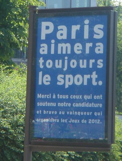 Parisaimeratoujourslesport